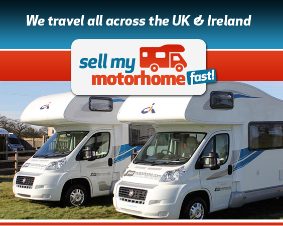 Sell my motorhome fast, we travel all across the UK & Ireland
